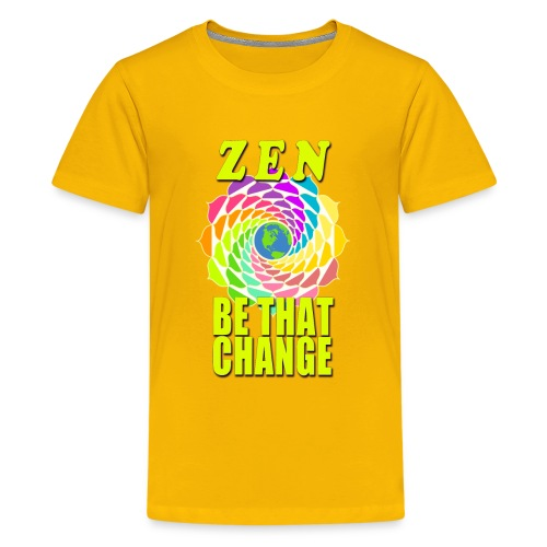 ZEN - Be That Change - Kids' Premium T-Shirt
