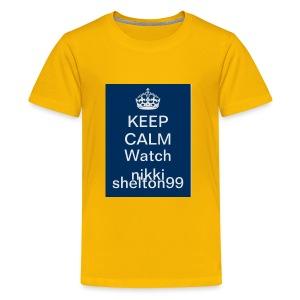 Keep calm watch Nikki Shelton 99 - Kids' Premium T-Shirt