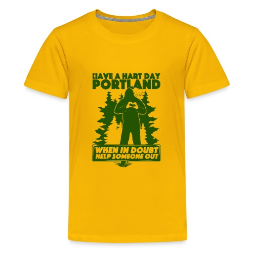 Have A Hart Day Portland - Button Pack - Kids' Premium T-Shirt
