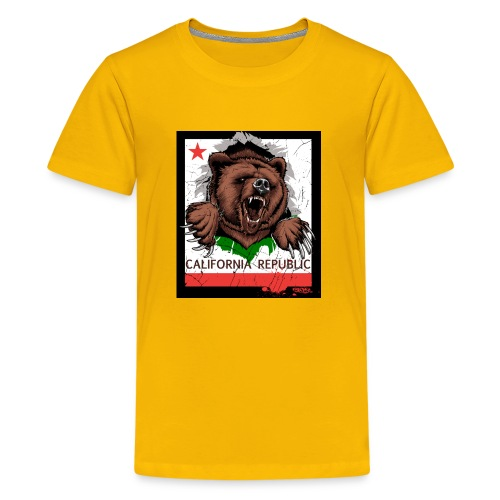 California Bear - Kids' Premium T-Shirt