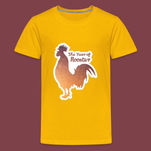 Year of Rooster - Kids' Premium T-Shirt