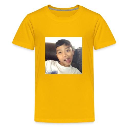 Jahziel Ona Fan Shirt (Face) - Kids' Premium T-Shirt