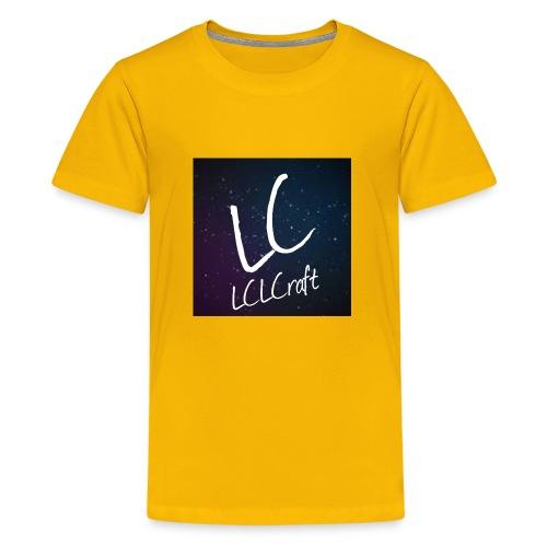 LCLCraft logo - Kids' Premium T-Shirt