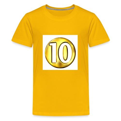 10 subscriber hodie - Kids' Premium T-Shirt