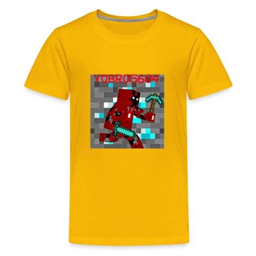 Yobro5604 icon for youtube channel - Kids' Premium T-Shirt