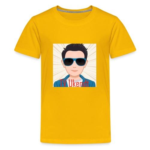 TVUKendt - KUN PROFILBILLEDE - Kids' Premium T-Shirt