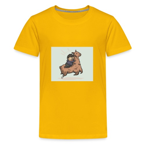 deviant id lamma by poporetto - Kids' Premium T-Shirt