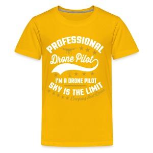 Professional Drone Pilot - Kids' Premium T-Shirt
