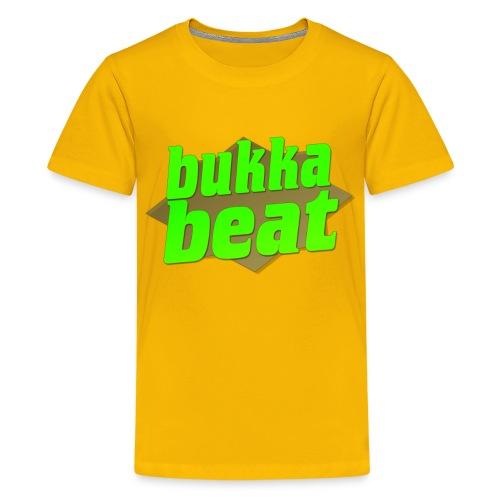 Bukka Beat Logo ( bukkabeat.com ) - Kids' Premium T-Shirt