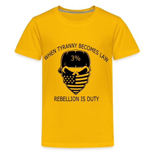 rebellion time - Kids' Premium T-Shirt