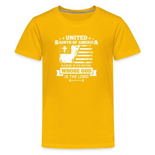 UnitedSaintsOfAmerica DesignHD 1 - Kids' Premium T-Shirt