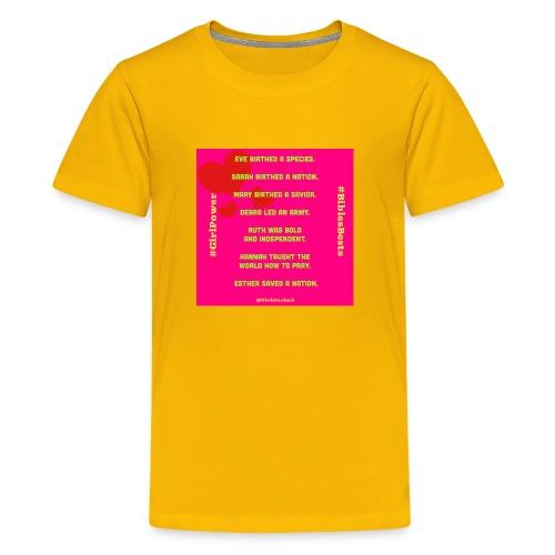 Girl Power Bible's Best - Kids' Premium T-Shirt