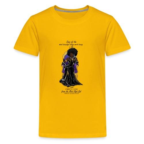 Hebrew queen readytoprint - Kids' Premium T-Shirt