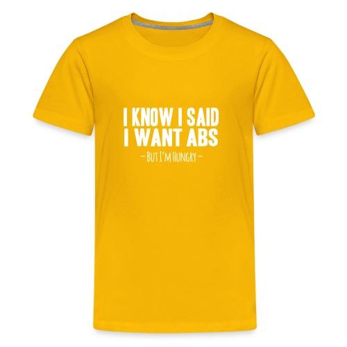Funny Fitness - Kids' Premium T-Shirt