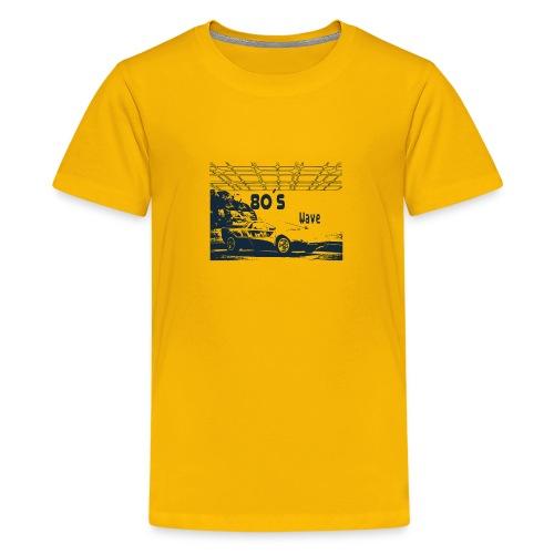 80s Car - 80´s Wave - Kids' Premium T-Shirt
