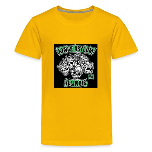 KING S ASYLUM MC color 817 S21462 - Kids' Premium T-Shirt
