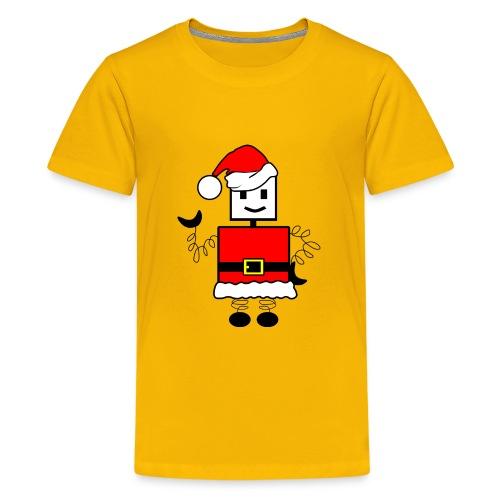 Robot Christmas - Kids' Premium T-Shirt