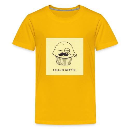english muffin merch - Kids' Premium T-Shirt