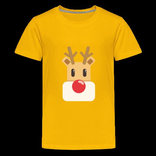 reindeer present idea - Kids' Premium T-Shirt