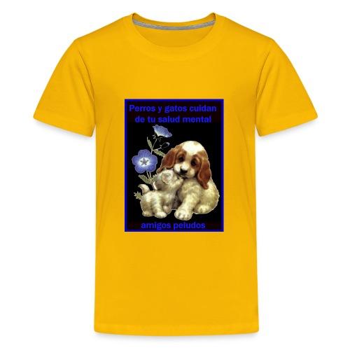 MASCOTAS Y SALUD - Kids' Premium T-Shirt