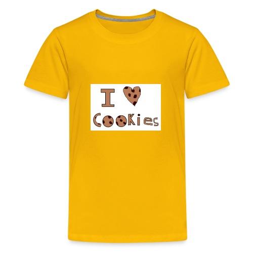 I Love Cookies - Kids' Premium T-Shirt