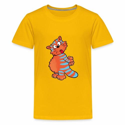 Tiger Cat - Kids' Premium T-Shirt