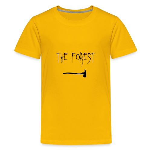 the forest , game axe - Kids' Premium T-Shirt