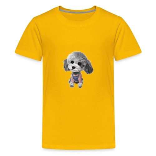 cute dog - Kids' Premium T-Shirt