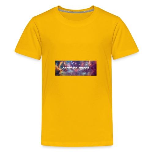 Forever Great galaxy - Kids' Premium T-Shirt