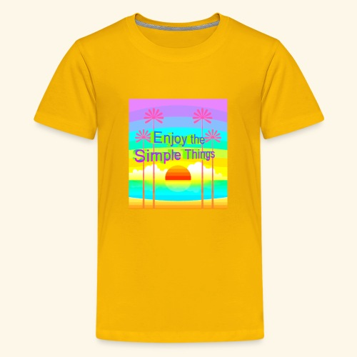 enjoy - Kids' Premium T-Shirt