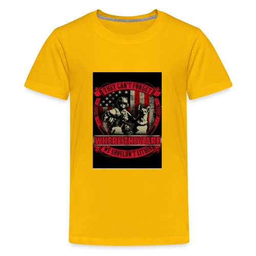 Never forget the army - Kids' Premium T-Shirt