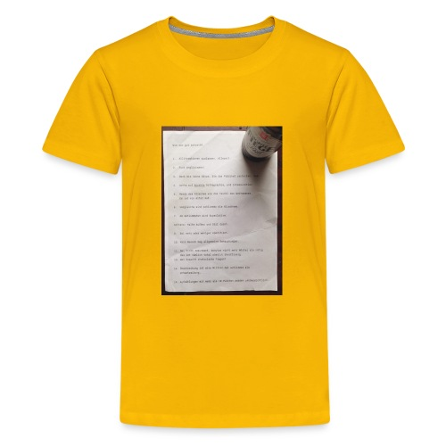 copywriting - Kids' Premium T-Shirt