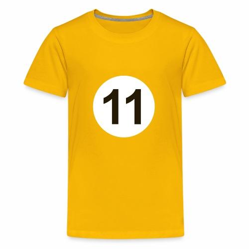 11 Crew White Logo - Kids' Premium T-Shirt
