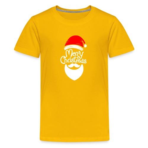 Merry Christmas Santa hat - Kids' Premium T-Shirt