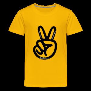 peace sign phifer army merch - Kids' Premium T-Shirt