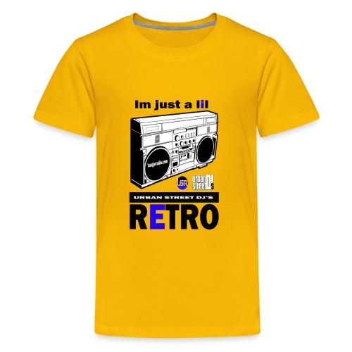 im a lil retro tshirt 2 - Kids' Premium T-Shirt
