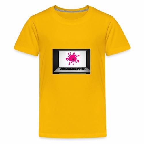 Squeeksterz pillow case - Kids' Premium T-Shirt