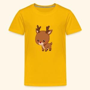 holiday reindeer - Kids' Premium T-Shirt