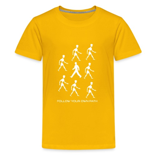 Follow Your Own Path - Kids' Premium T-Shirt