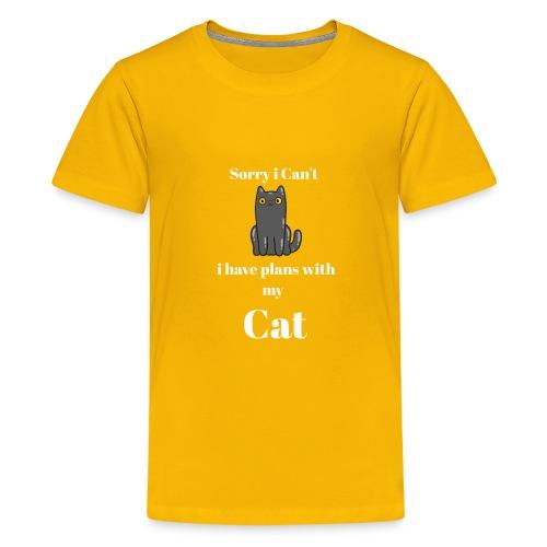 Describe You are a Cat Lover T Shirt - Kids' Premium T-Shirt