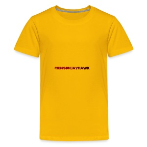 CrimsonJayhawk - Kids' Premium T-Shirt