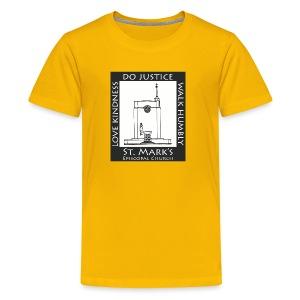 Black St. Mark's Logo - Kids' Premium T-Shirt