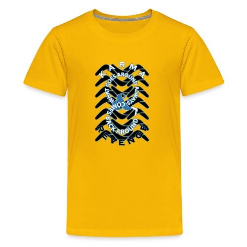 Boomerang Blue - Kids' Premium T-Shirt