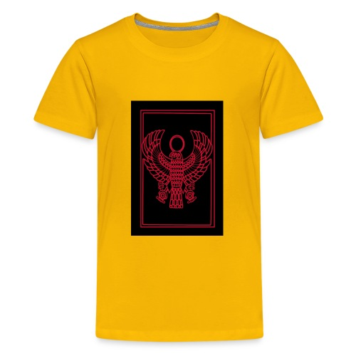 Heru- Horus (Ancient Mystery School KMT) - Kids' Premium T-Shirt
