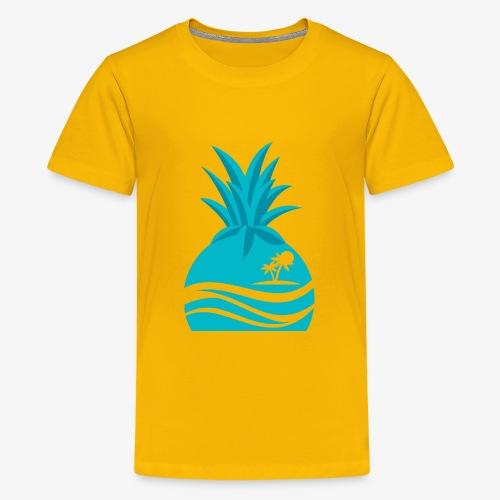 Island Pineapple - Kids' Premium T-Shirt