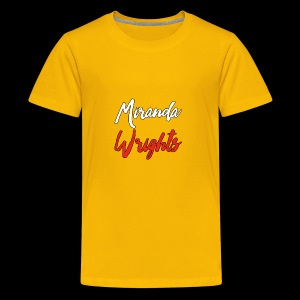 Miranda Wrights Logo - Kids' Premium T-Shirt