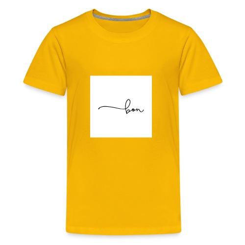 bon logo 2 - T-shirt premium pour ados