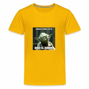Duke is Garbage - Kids' Premium T-Shirt