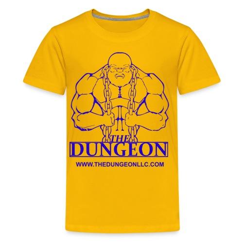 Dungeon Blue - Kids' Premium T-Shirt