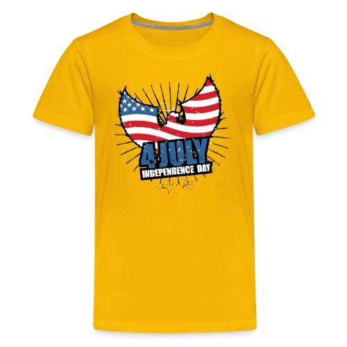 independence day - Kids' Premium T-Shirt